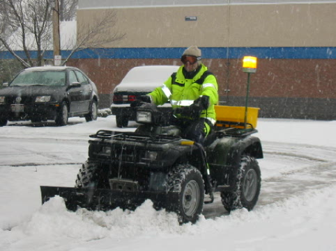 Image result for atv snow removal equipment