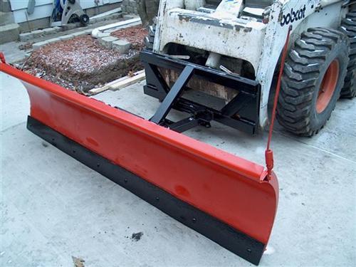 Need help welding skid-steer plow