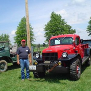 47 Dodge WDX and I at IA June 07